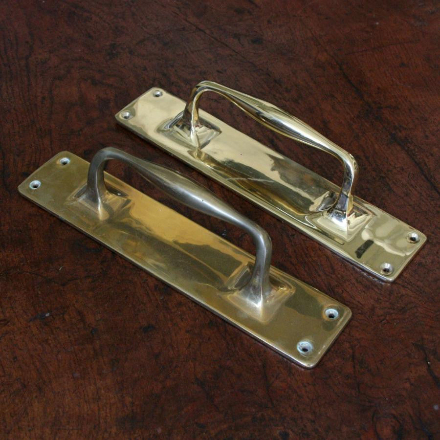Antique Solid Brass Door Pull - The Architectural Forum