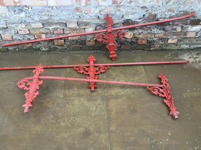 Antique Iron Balconette Railings - The Architectural Forum