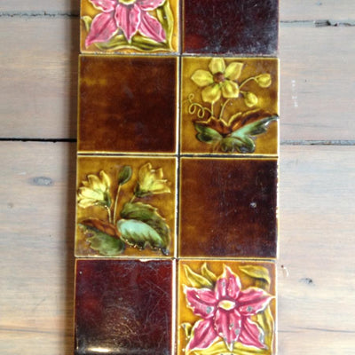 Antique Fireplace Tiles - architectural-forum