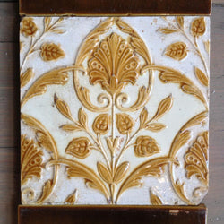 Original fireplace tiles