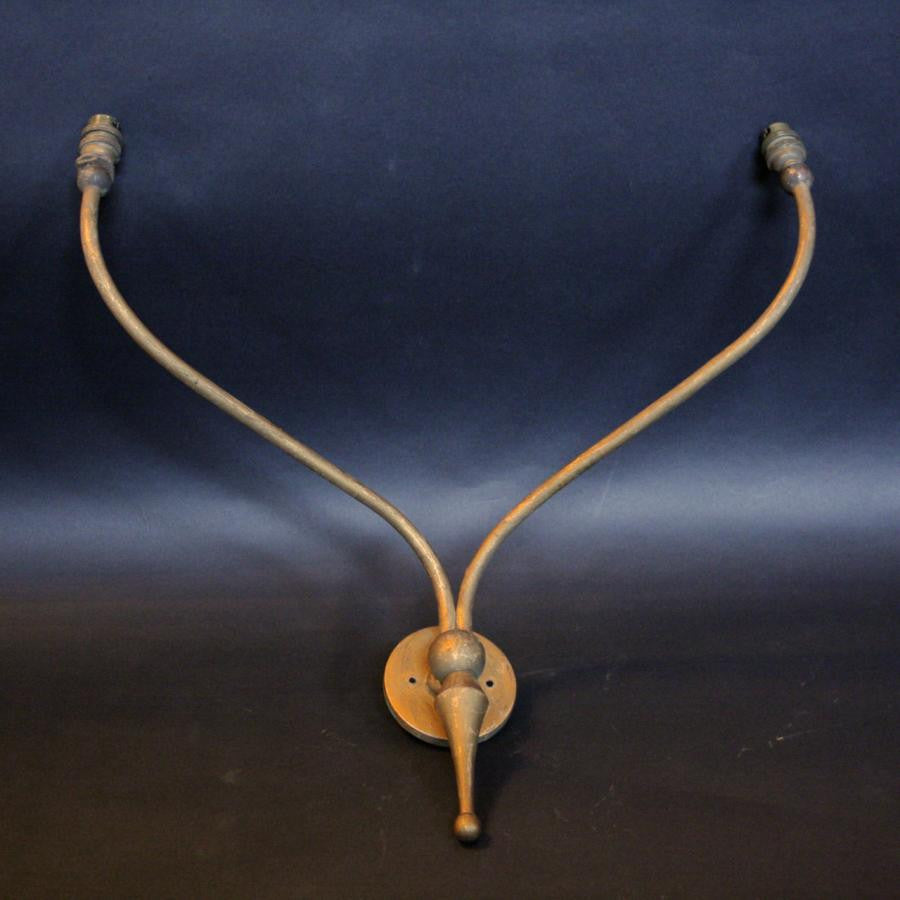 Antique Gilt Sconce - The Architectural Forum