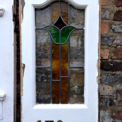 Antique edwardian stained glass front door the architectural forum edwardian front door front door with stained glass front door with side panels planetlyrics Images