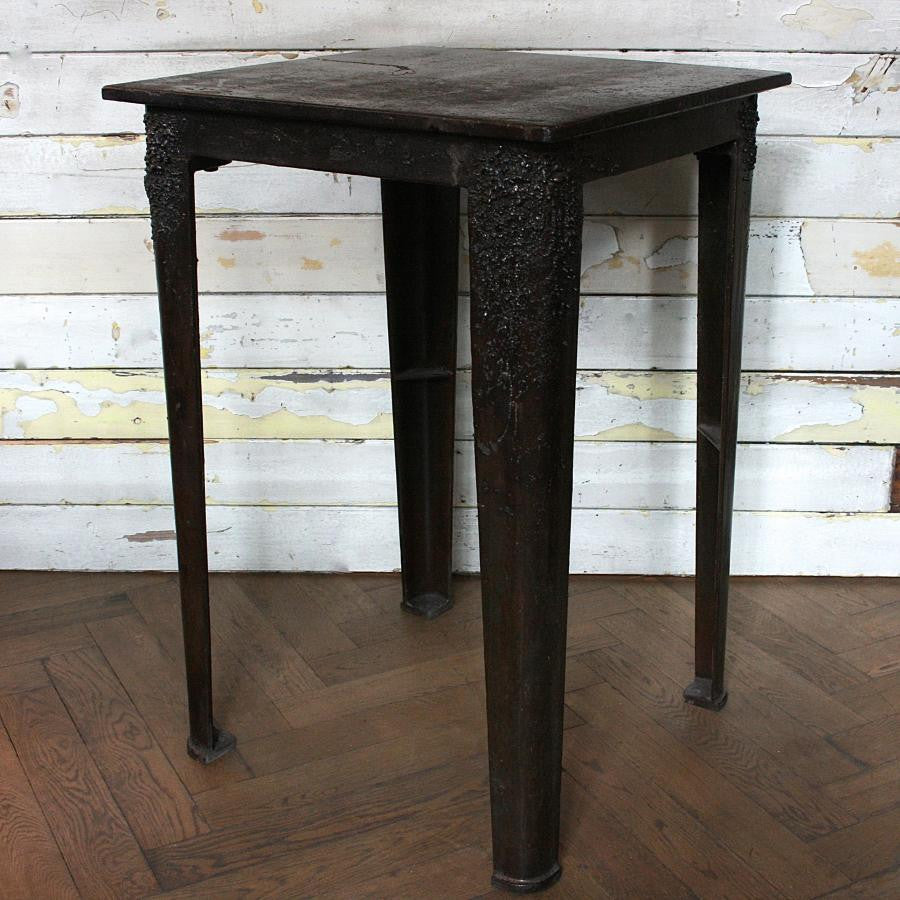Industrial Iron Welders Work Table - architectural-forum