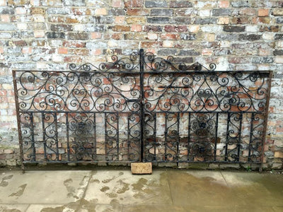Antique Wrought Iron Gates - The Architectural Forum