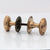 Pair of Reclaimed Brass Door Knobs | The Architectural Forum