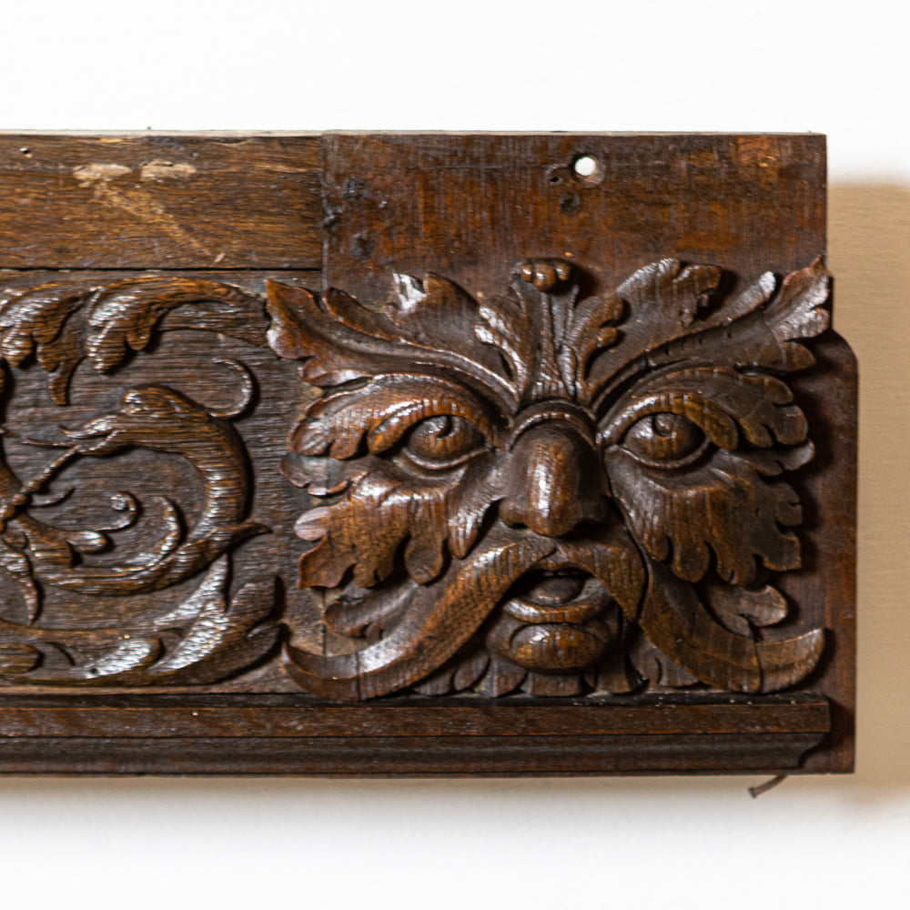 Antique Ornately Carved Wooden Element | The Architectural Forum