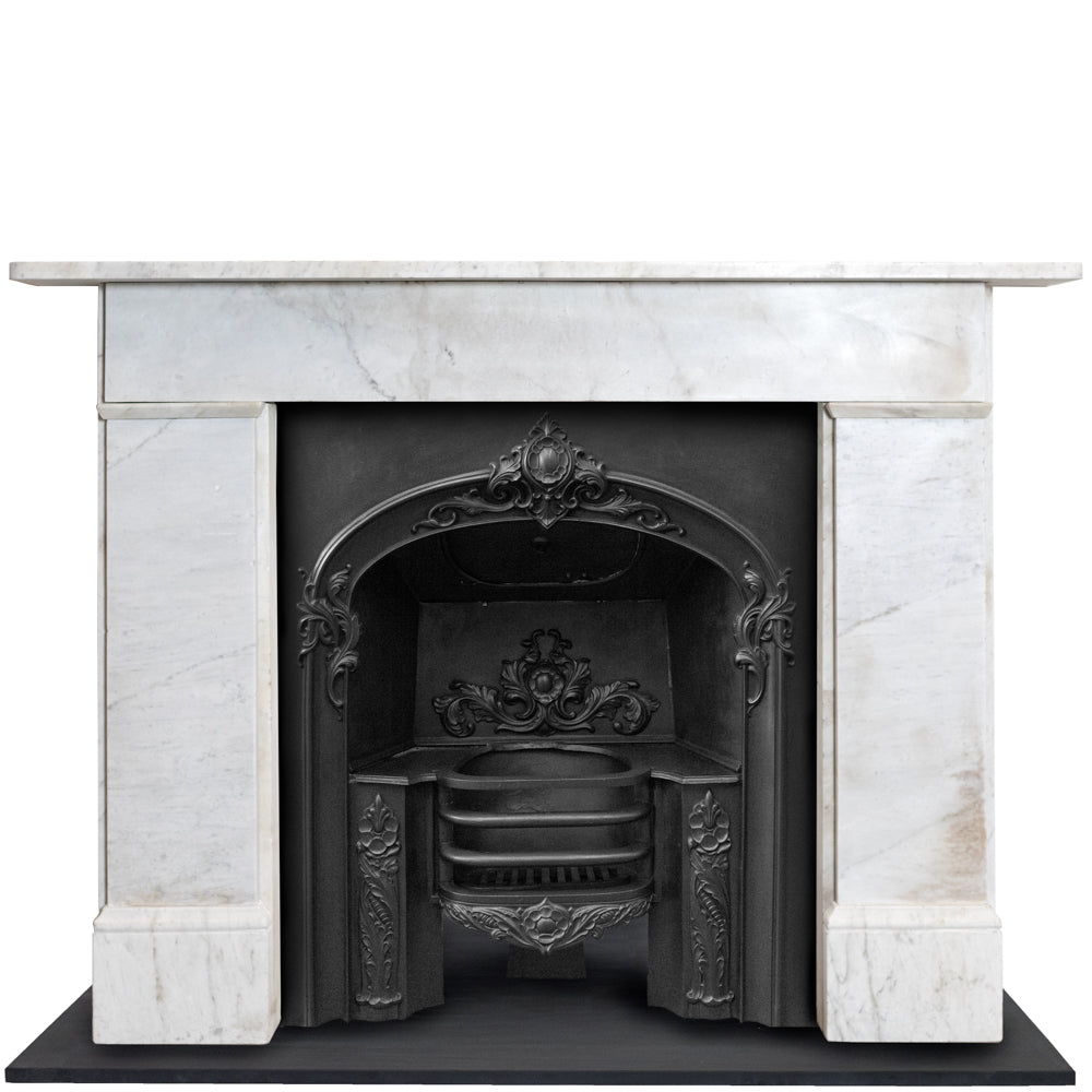 Antique Late Georgian Early Victorian Carrara Chimneypiece | The Architectural Forum