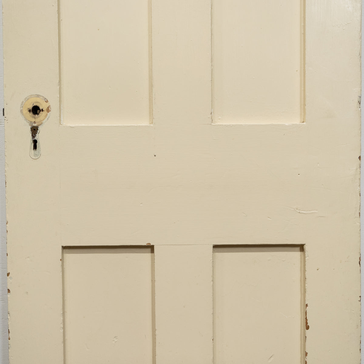 Antique Victorian 4 Panel Door - 184cm x 65cm | The Architectural Forum