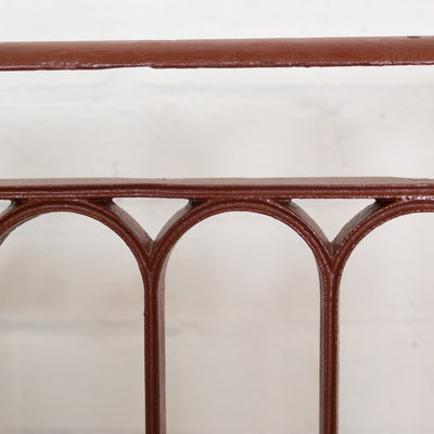 Antique Regency Cast Iron Juliette Balcony