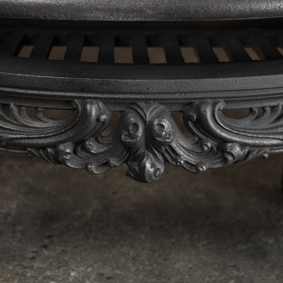 Antique Ornate Late Georgian, Early Victorian Cast Iron Insert