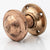 Pair of Antique Solid Brass Polished Door Pulls | The Architectural Forum