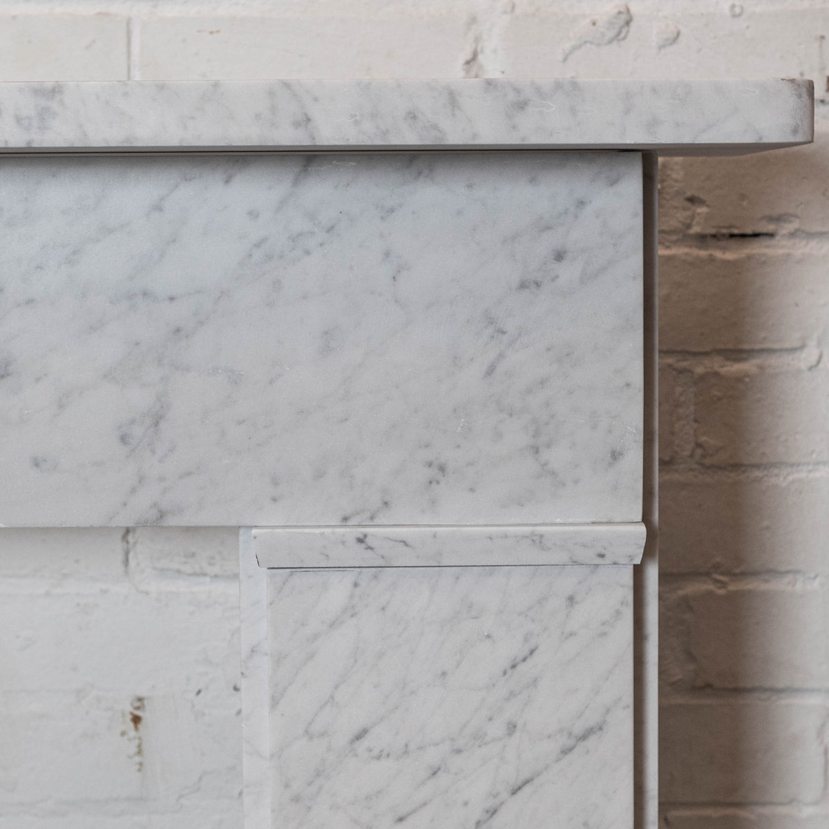 Georgian / Victorian Style Carrara Fireplace Surround | The Architectural Forum