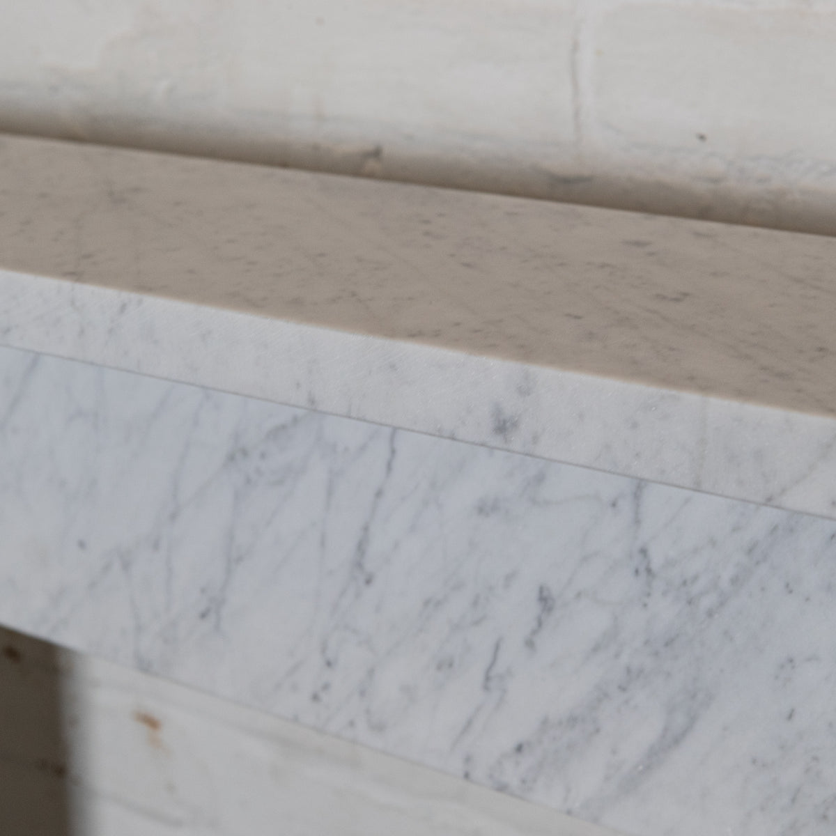 Victorian Style Carrara Marble Fireplace Surround | The Architectural Forum