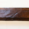 Antique Oak Decorative Beam Pediment with Corbels Inglenook Opening