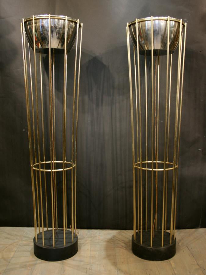 Art Deco Style Brass lights - architectural-forum