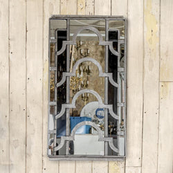 Art Deco window mirror