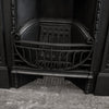 Antique Art Nouveau, Edwardian Cast Iron Combination Fireplace