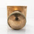 Antique Brass Door Knob with Square Back Plate | The Architectural Forum