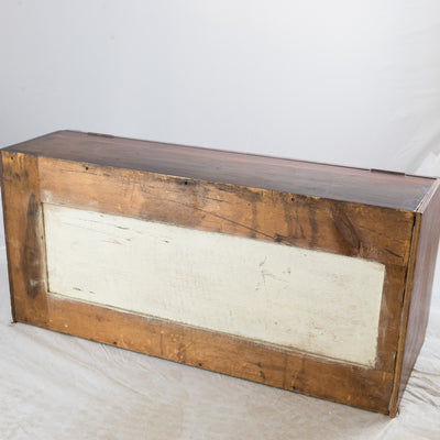 Antique Curved Glass Counter Display Case