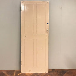 Teak Four Panel Door - 196cm x 68.5cm x 3.5cm