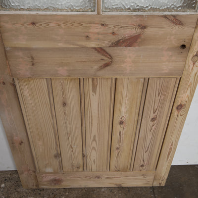 Reclaimed 6 Panel Glazed Door  - 188.5cm x 71cm x 3.5cm