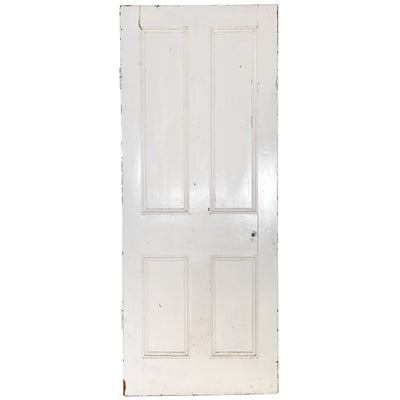 Victorian 4 Panel Door - 200cm x 80cm - architectural-forum