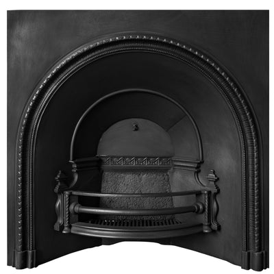Antique Victorian Arched Cast Iron Fireplace Insert - The Architectural Forum
