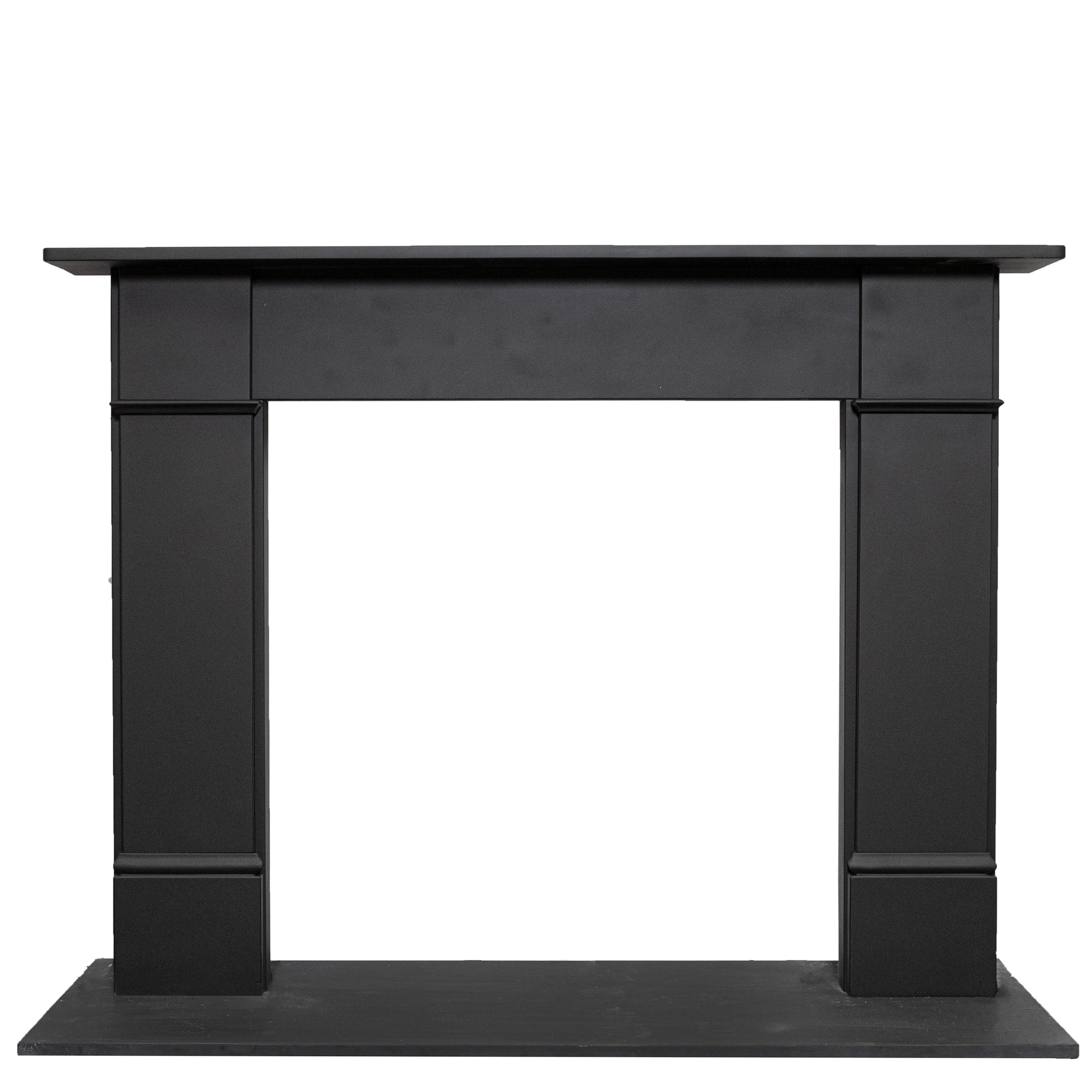 Late Georgian | Early Victorian Style Black Slate Chimneypiece | The Architectural Forum