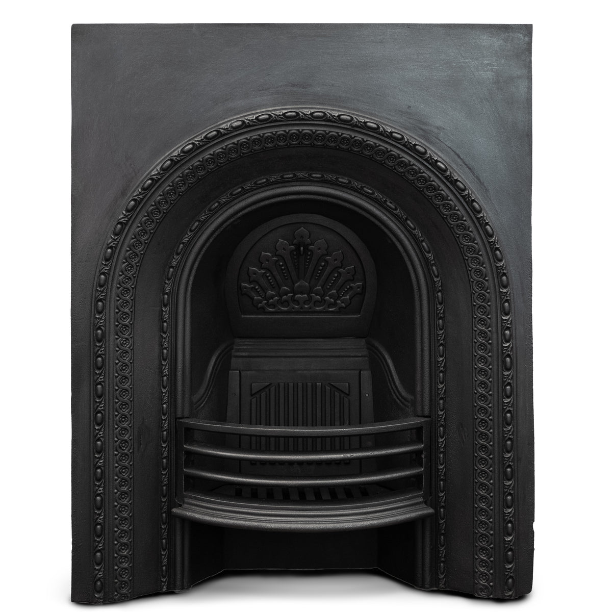 Antique Reclaimed Victorian Cast Iron Arched Insert | The Architectural Forum