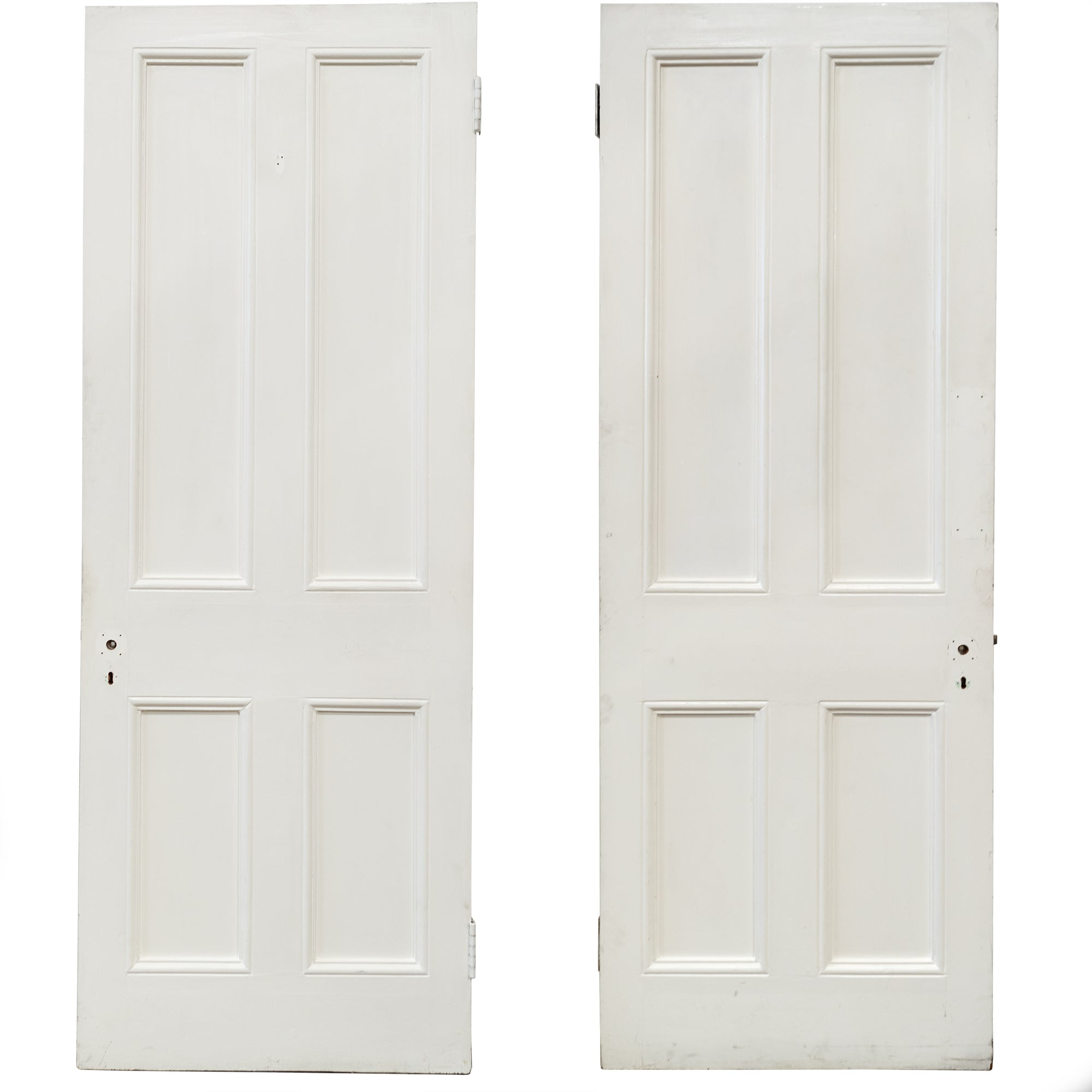 Antique Victorian 4 Panel Door - 208cm x 75cm | The Architectural Forum