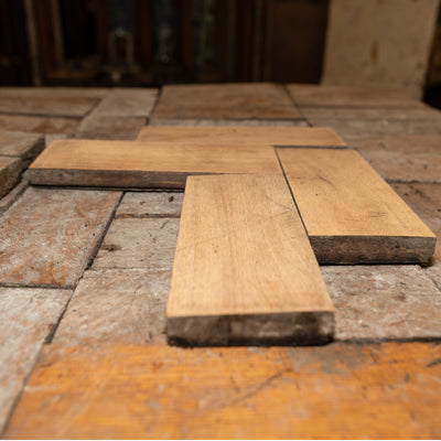 Antique Reclaimed Oak Parquet Flooring 12m² - The Architectural Forum