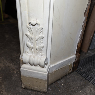 Antique Victorian Louis Style Wooden Fireplace Surround - architectural-forum