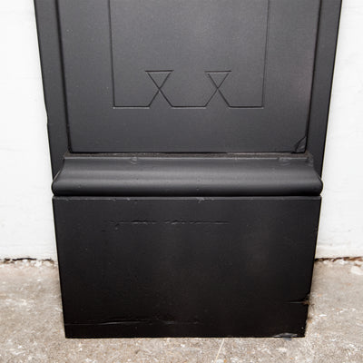 Antique Victorian Slate Fireplace Surround With Corbels - architectural-forum