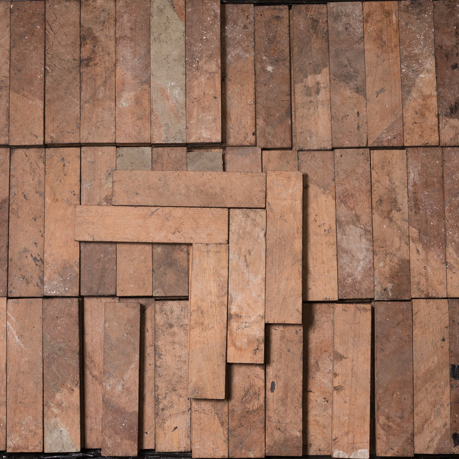 Reclaimed Teak Parquet Flooring 28m² Available