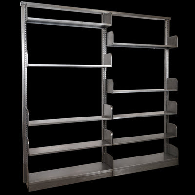 Reclaimed & Restored Mid century Shelving Units - architectural-forum