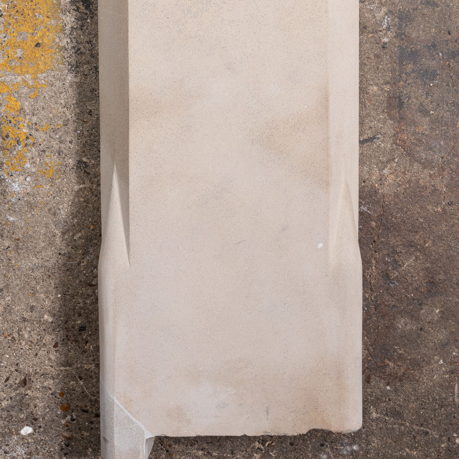 Antique Victorian Sandstone Fireplace Surround