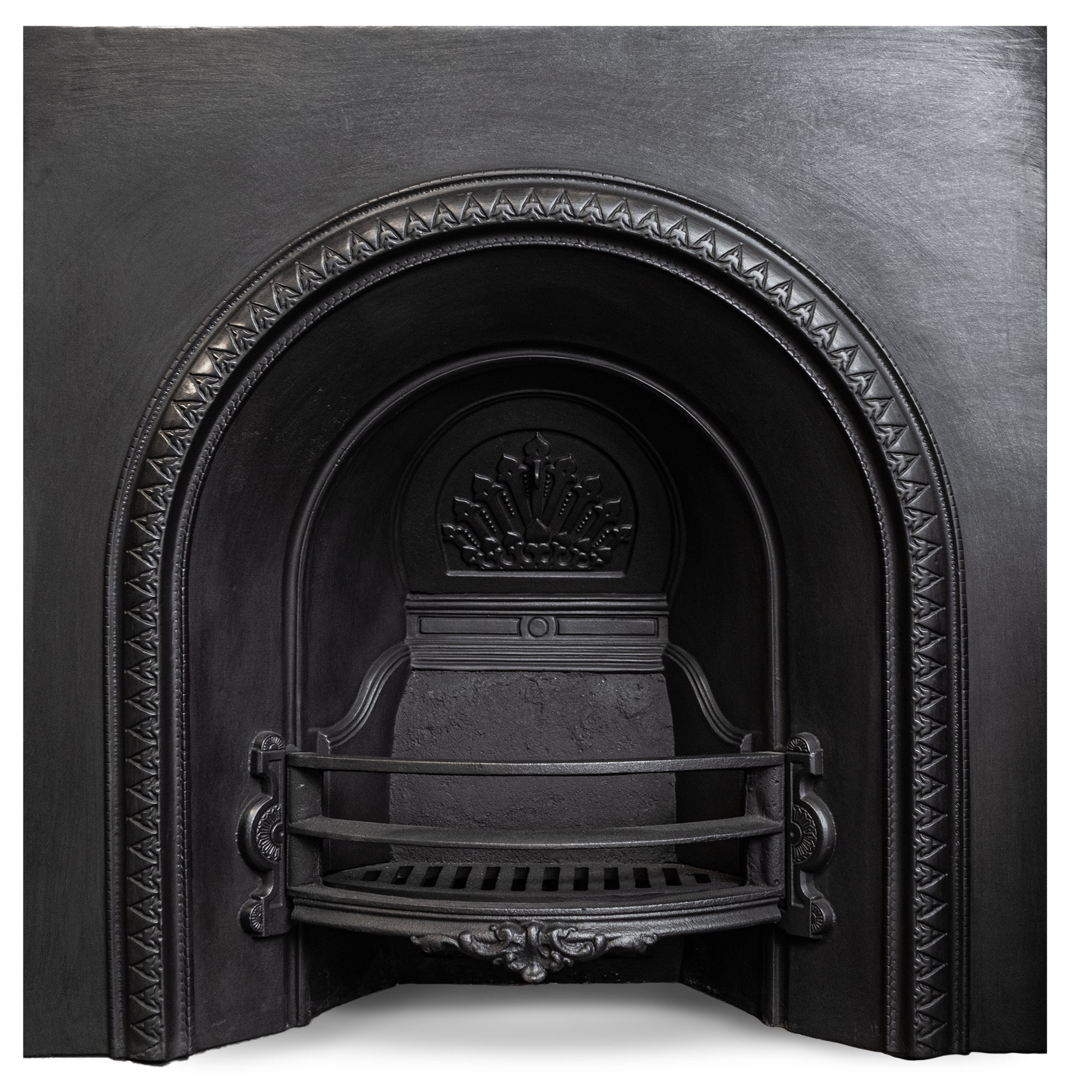 Antique Early Victorian Cast Iron Arched Insert | The Architectural Forum