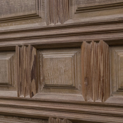 Reclaimed Panelled Pine Door 193cm x 82cm (2 available)