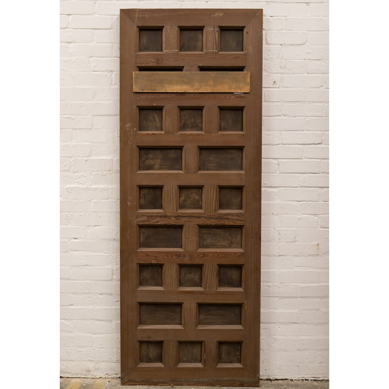 Reclaimed Panelled Pine Door 199.5cm x 75cm