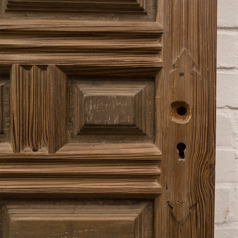 Reclaimed Panelled Pine Door 196cm x 82cm