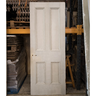 Reclaimed Victorian 4 Panel Door - 197cm x 75.5cm