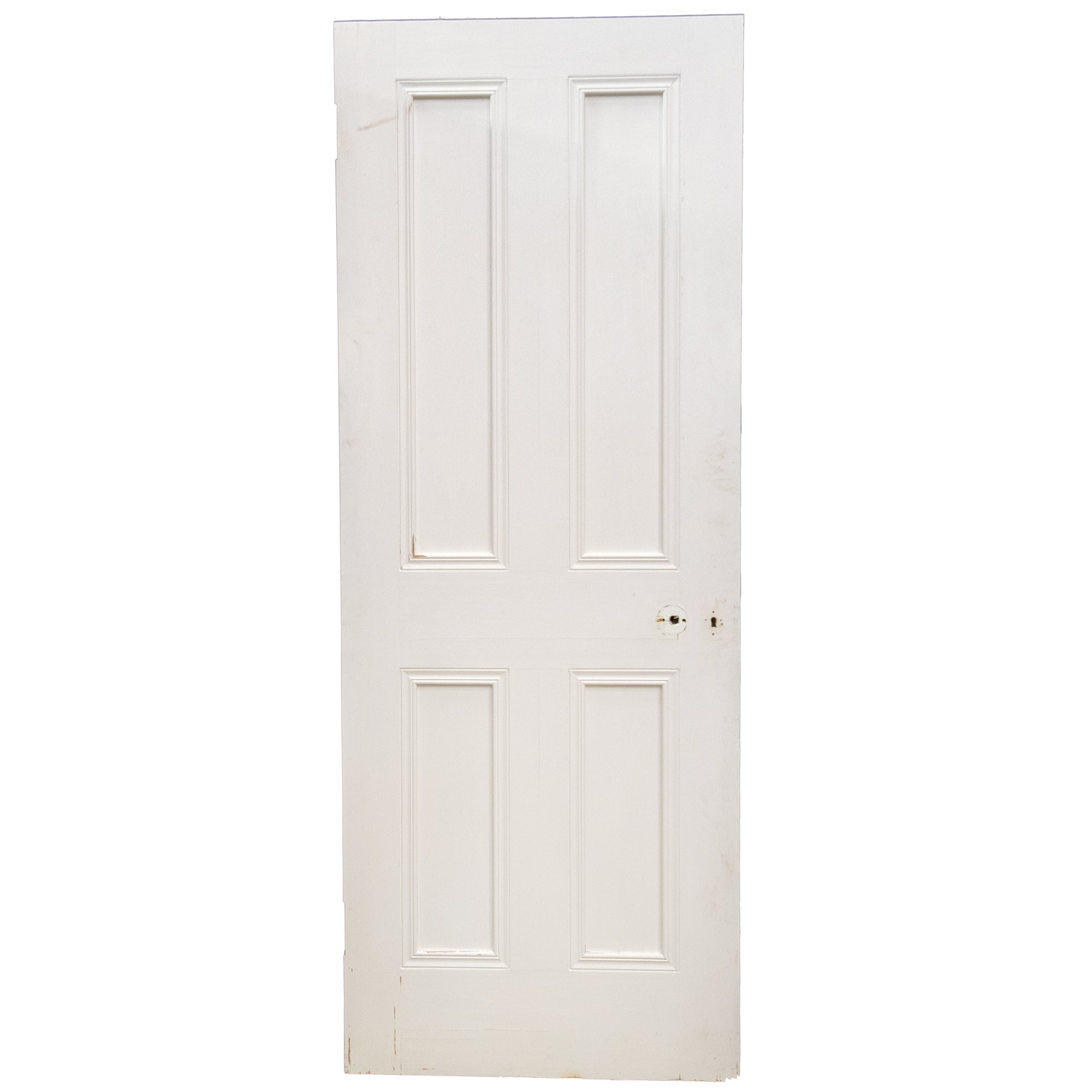 Reclaimed Victorian Style 4 Panel Door - 198cm x 76.3cm