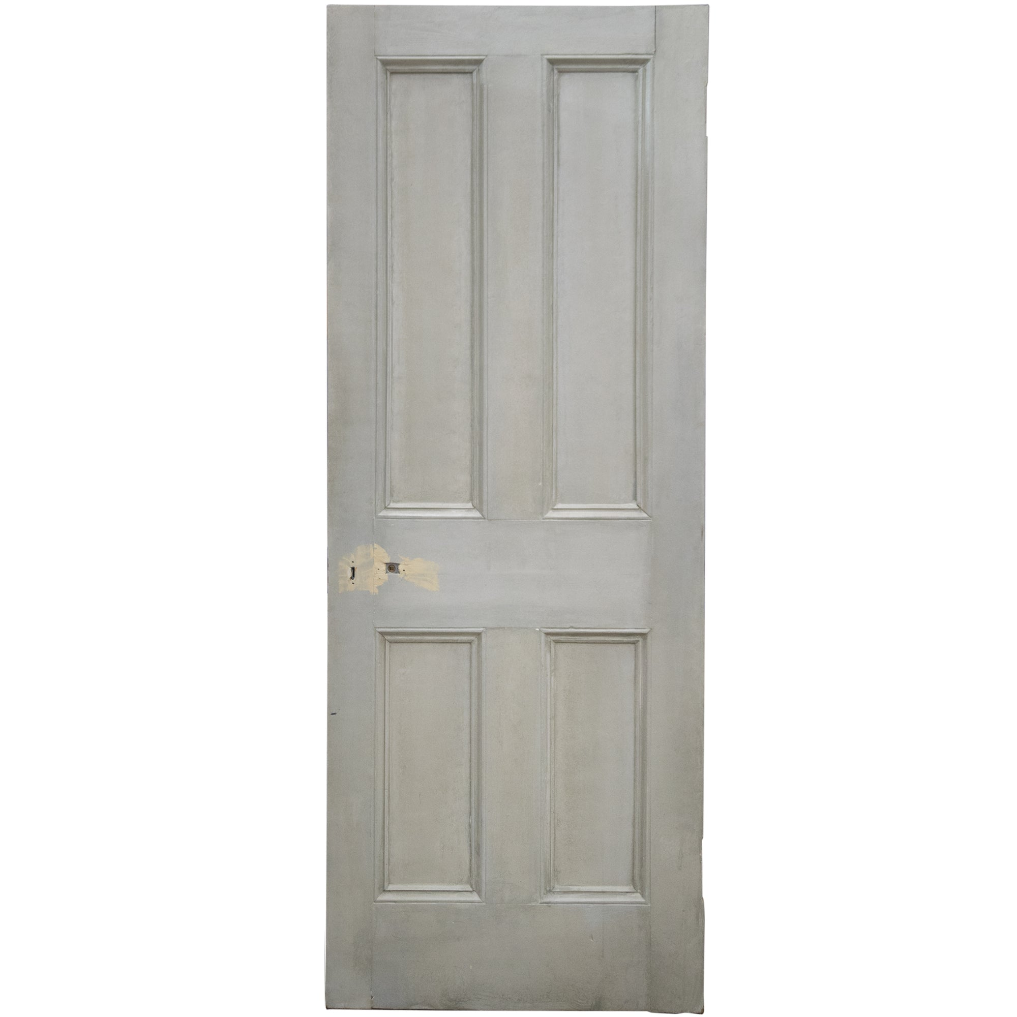 Reclaimed Victorian 4 Panel Door - 194.5cm x 75.5cm