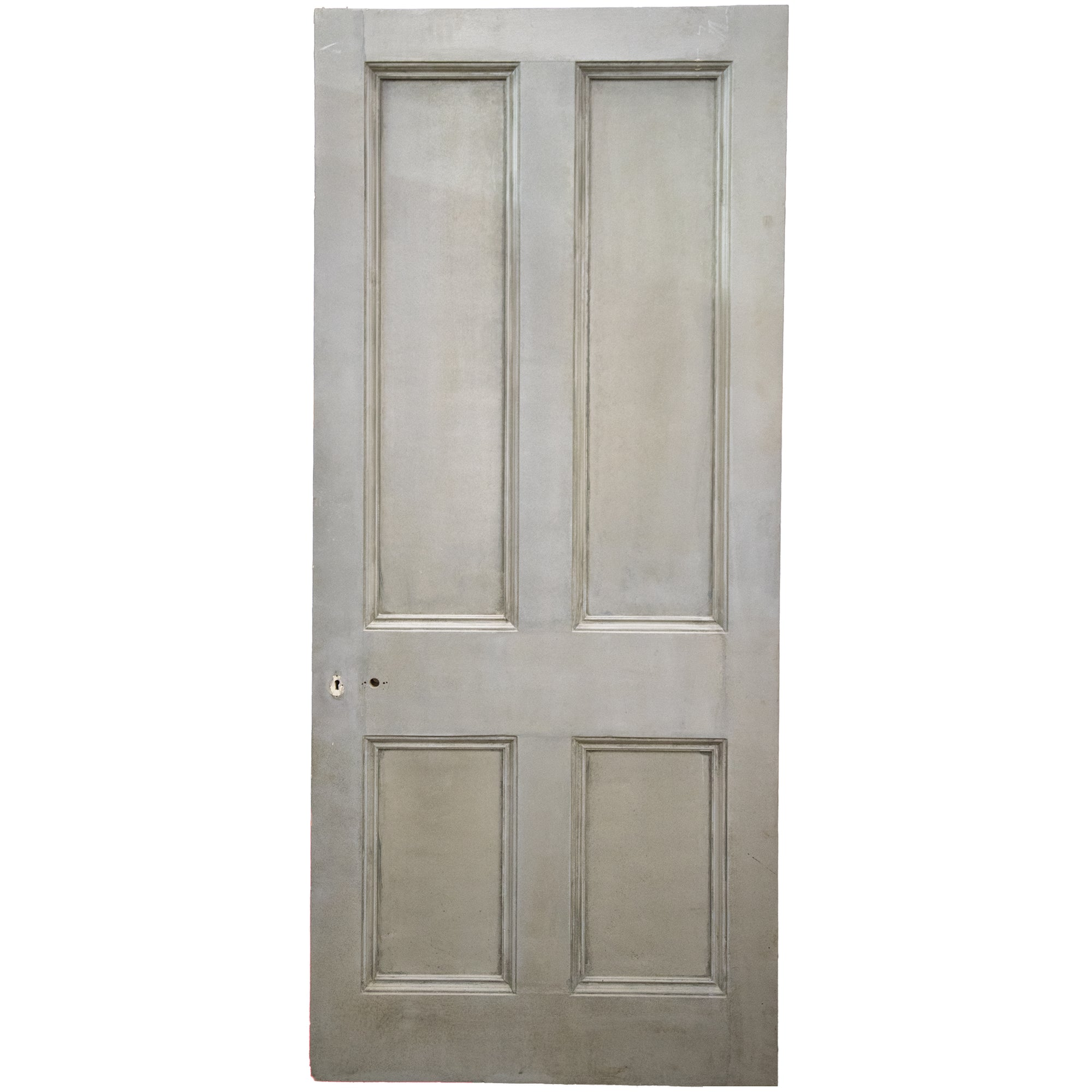 Large Antique Victorian Door - 206.5cm x 95cm