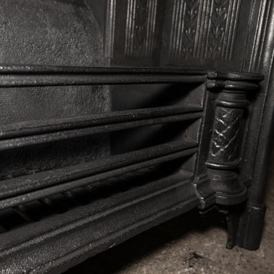 Reclaimed Cast Iron Fireplace Insert Hob Grate