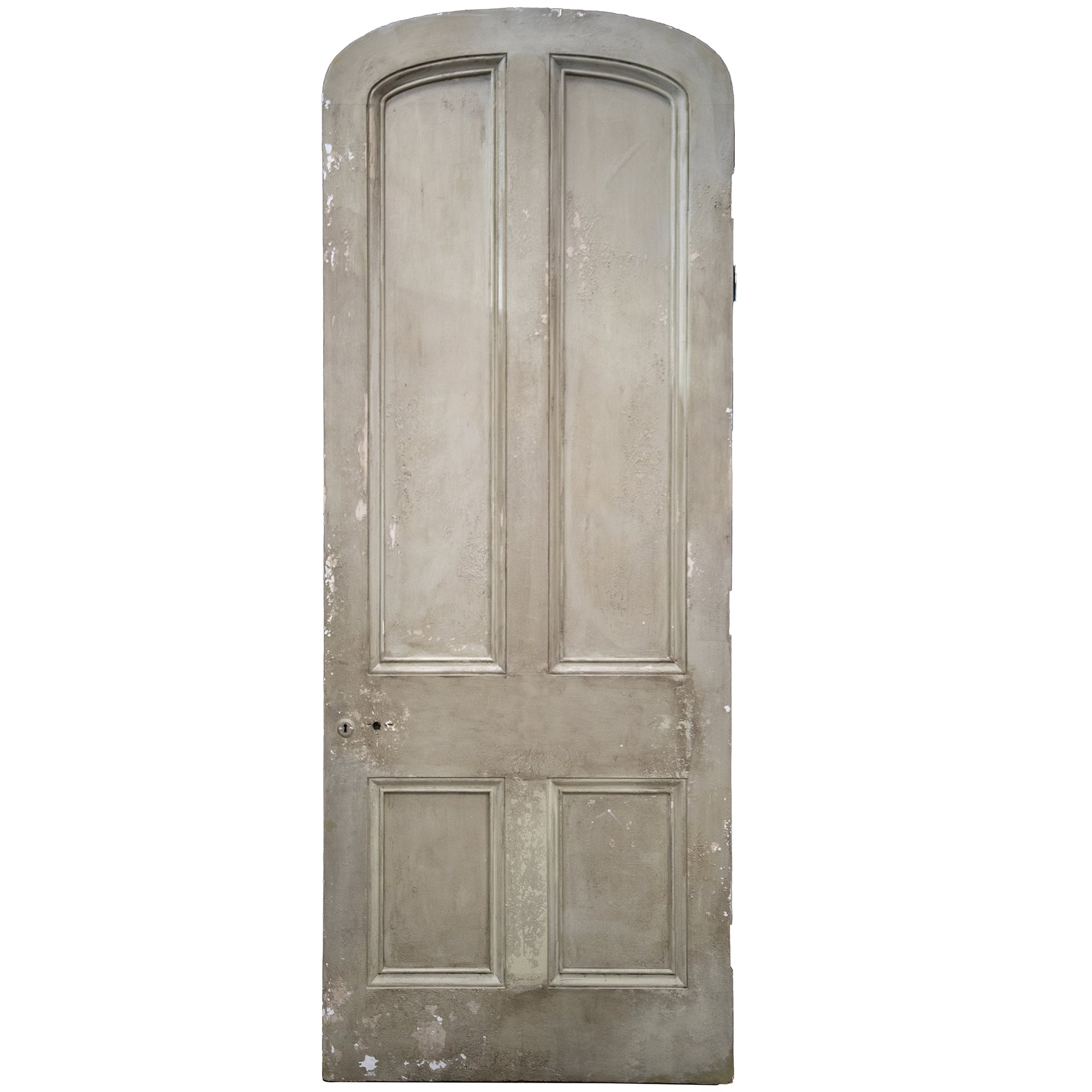Antique Victorian Arched Door - 248cm x 98.5cm
