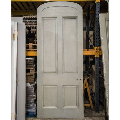 Antique Victorian Arched Door - 248cm x 98.5cm - The Architectural Forum