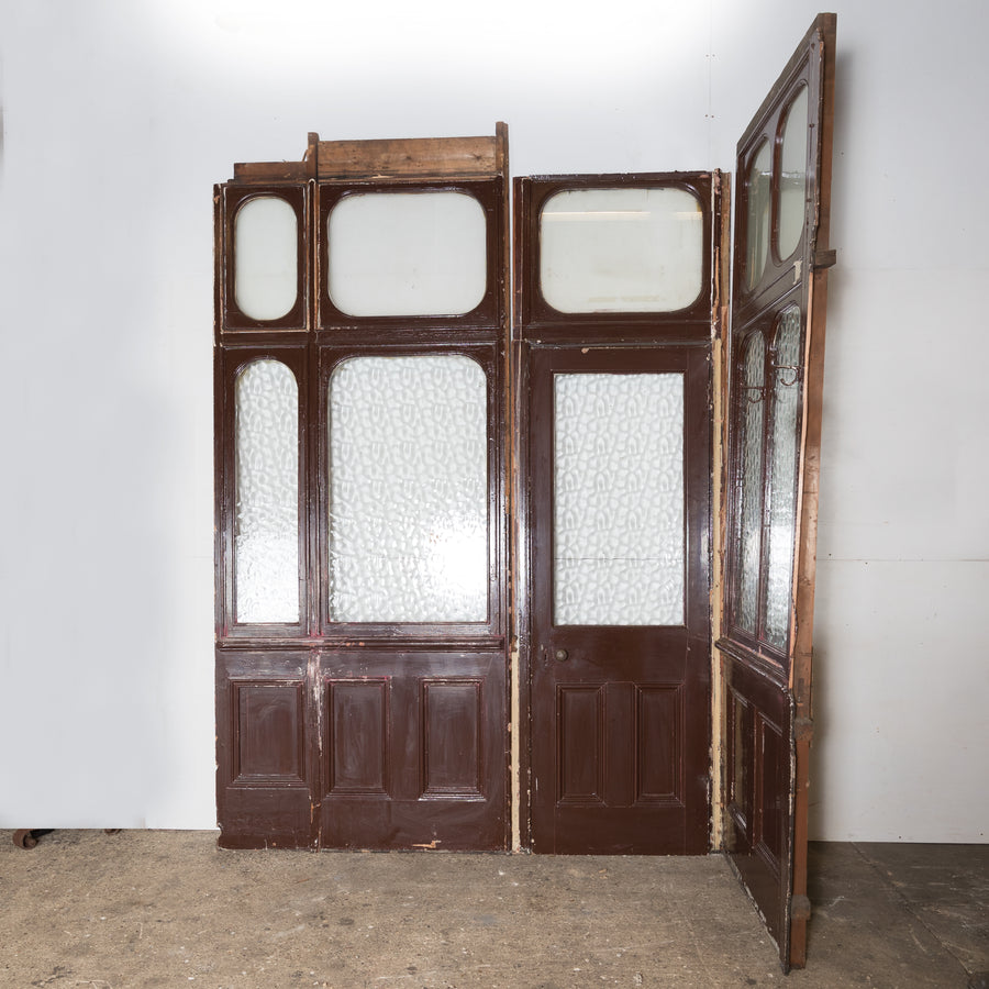 Antique Victorian Modular Glazed Room Divider - The Architectural Forum