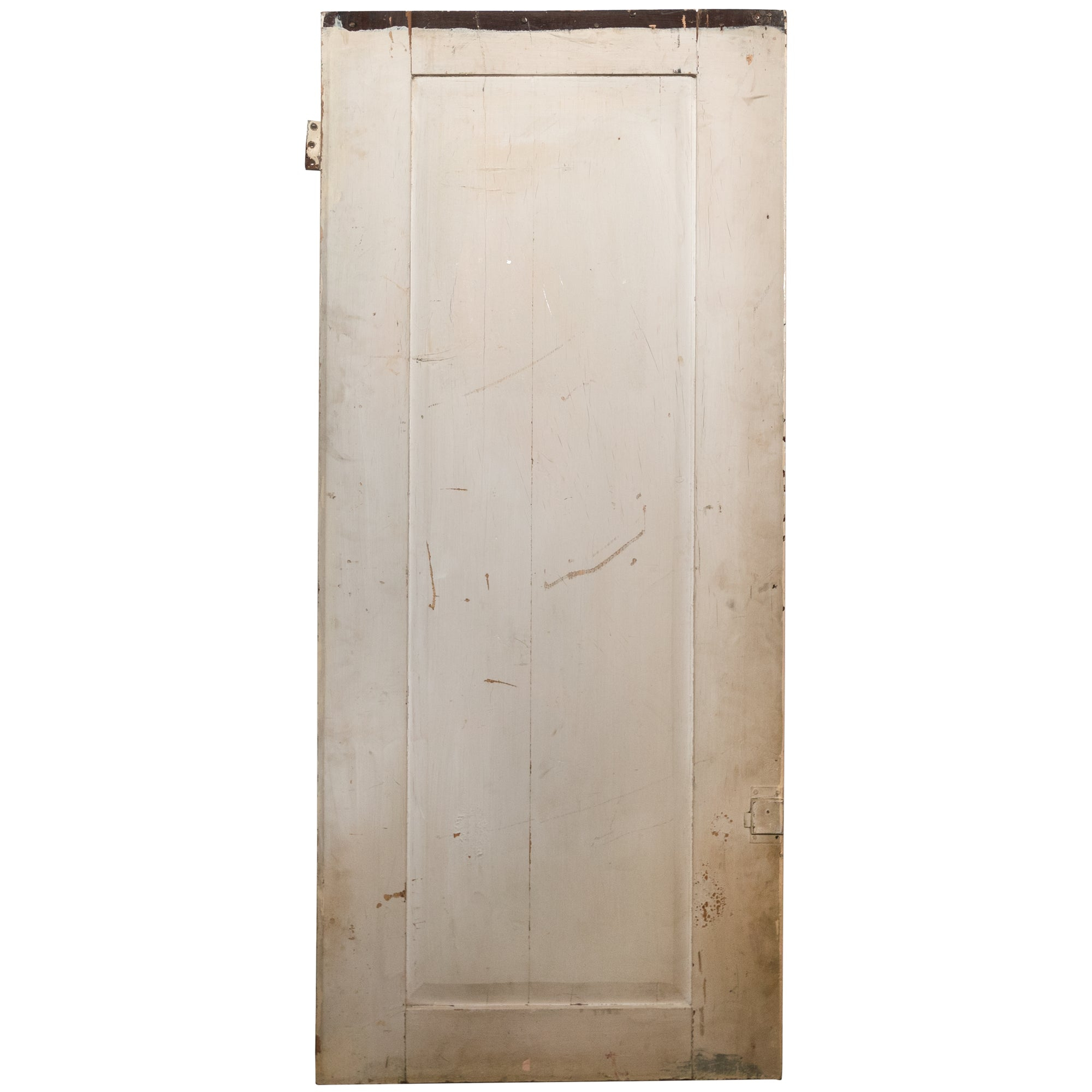 Antique Victorian Pine Cupboard Door - 143cm x 61cm - The Architectural Forum