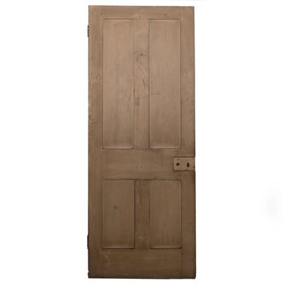 Victorian 4 Panel Door - 196.5cm x 75cm - architectural-forum